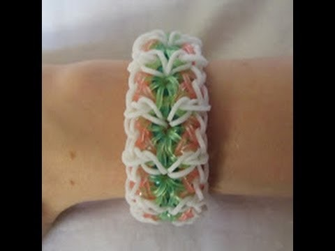 Rainbow Loom- How to make an Allure Bracelet (Original Pattern)