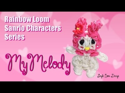 Rainbow Loom Sanrio Characters Series: My Melody (Single Loom)