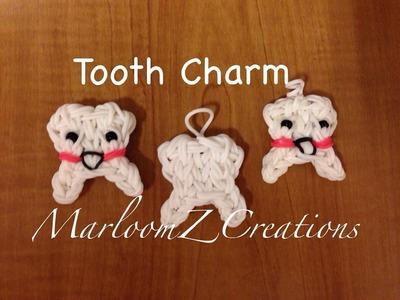 Rainbow Loom Tooth Charm: