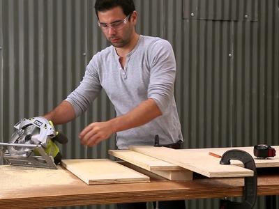 RYOBI Nation & HomeMade Modern Show You How to Build a Toboggan
