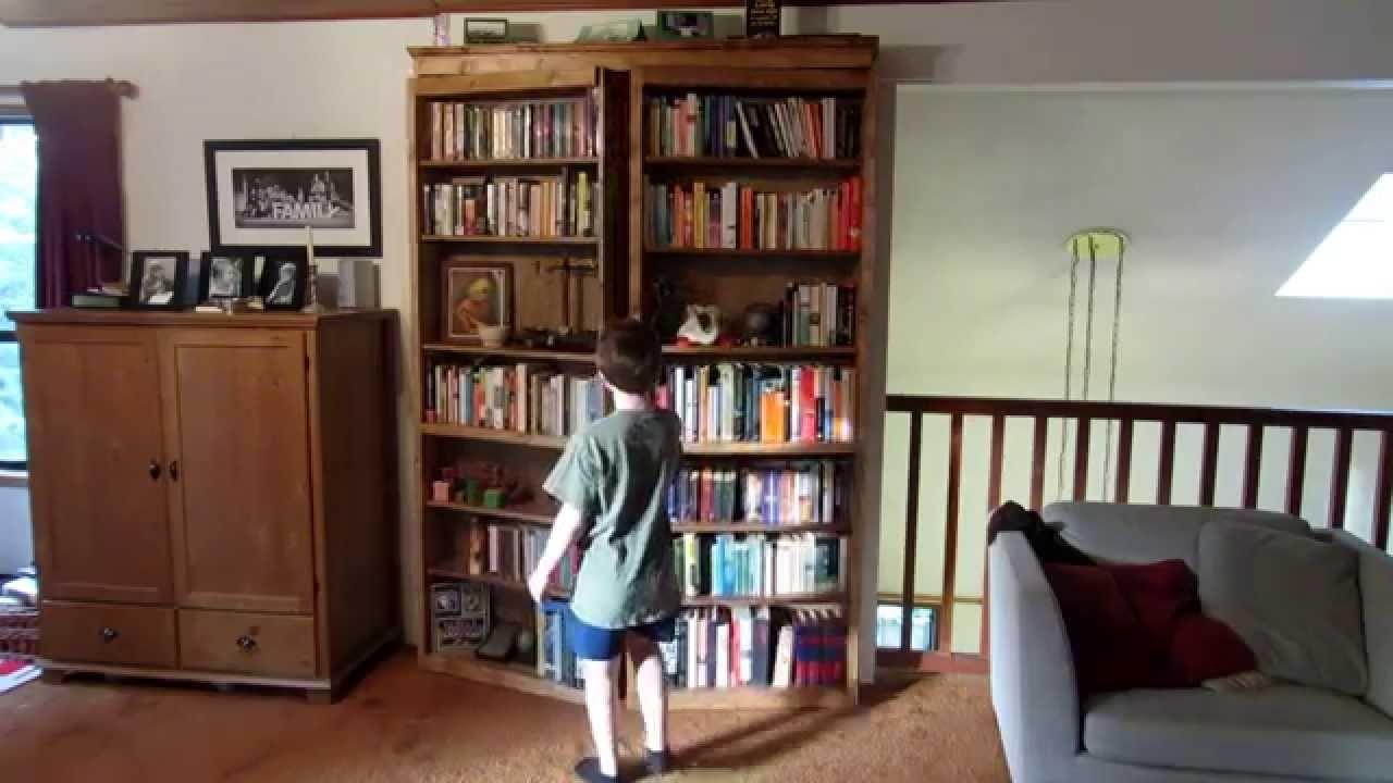secret door bookcase