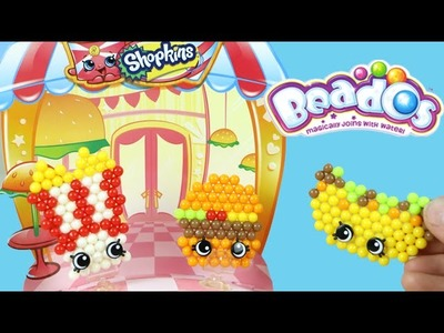Shopkins Beados Fast Food Diner Activity Pack Moose Toys Review