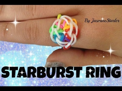 STARBURST Ring (Original Method) Rainbow Loom Tutorial