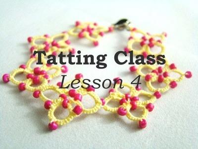 Tatting Class - Lesson 4