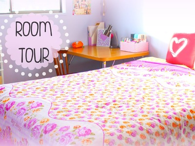 Teen Girl Room Tour 2015 | JENerationDIY