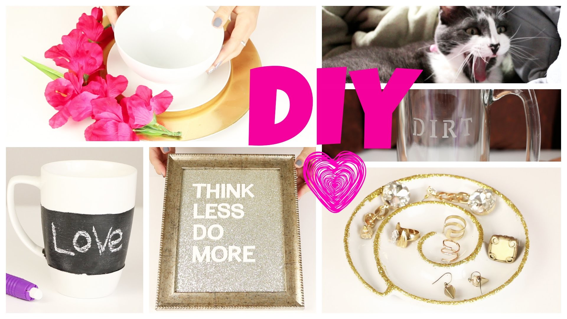 8 DIY Gift Ideas!  Last Minute DIY Gift Ideas for Him & Her Holiday Gift