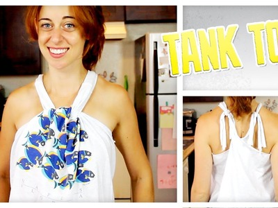 DIY Tank Tops From Old T-Shirts - Do It, Gurl