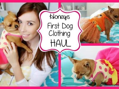 First Dog Clothing Haul ♡ Honey