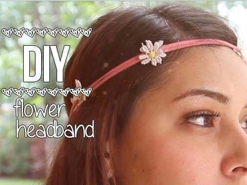 Flower Headband ♥ DIY