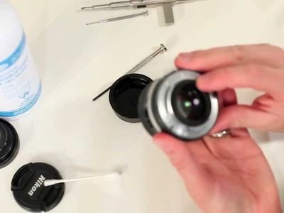 How to Disassemble and Repair Oily Aperture Nikon 50mm 1.4 ai-s Prime Lens