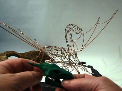 How to make A Fimo Dragon Sculpture part one