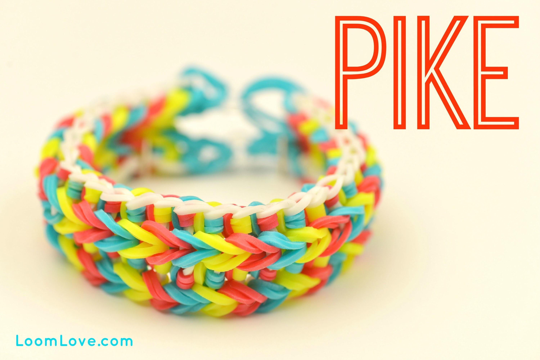 How to Make a Pike Rainbow Loom Bracelet