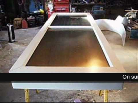 How To Make an Aluminum Can Solar Air Furnace: Part 1.4