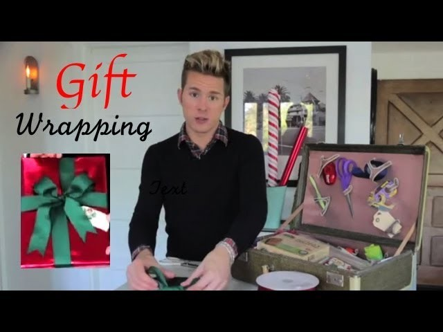How To Wrap the Perfect Holiday Gift and Store the Supplies