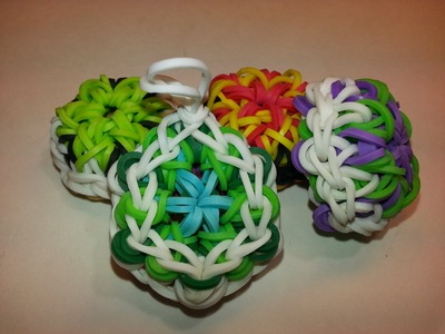 Kaleidoscope Turtle Shell Charm Tutorial by feelinspiffy (Rainbow Loom)