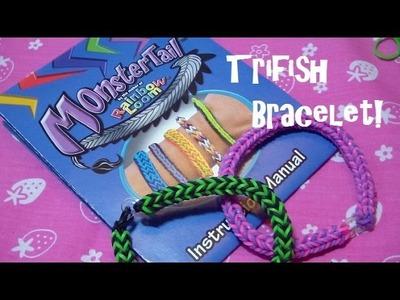 New !!! MonsterTail Loom: Trifish Pattern Tutorial!