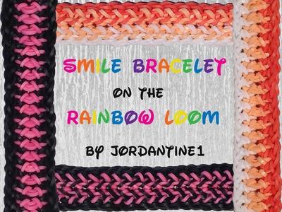 New Smile Bracelet - Reversible - Rainbow Loom, Fun Loom, Bandaloom, Crazy Loom