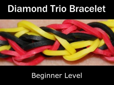 Rainbow Loom® Diamond Trio Bracelet