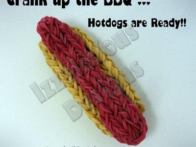 Rainbow Loom Hot Dog Charm - Gomitas