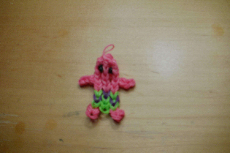 Rainbow Loom: How To Make Patrick (SpongeBob)