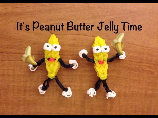 Rainbow Loom Peanut Butter Jelly Time - Banana