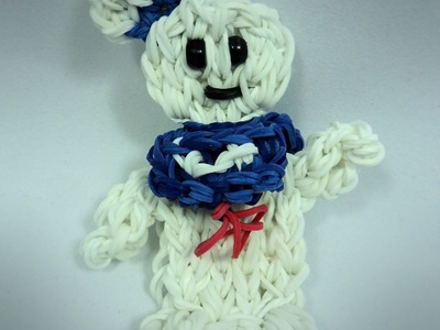 Rainbow Loom Stay Puft Marshmallow Man Action Figure Tutorial (extended)