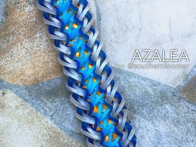AZALEA Rainbow Loom bracelet tutorial