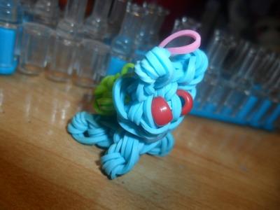 Bulbasaur Rainbowloom charm tutorial