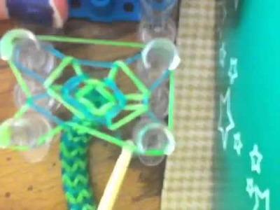 Chevron rainbow loom bracelet