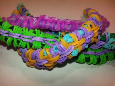Mini Side Wrap Bracelet Tutorial by feelinspiffy (Rainbow Loom)