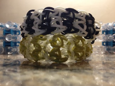 *NEW!* How to Make a Rainbow Loom Squire Bracelet!
