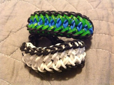 NEW Triangle Chain Rainbow Loom Bracelet
