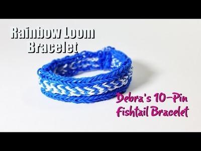 PG's Loomacy presents: Debra's 10-Pin Fishtail Bracelet