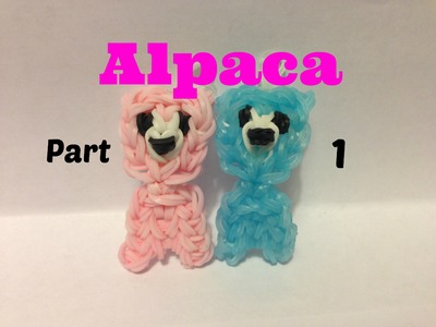 Rainbow Loom - Alpaca Charm Part 1
