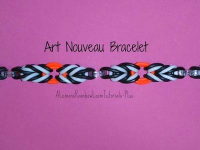 Rainbow Loom - Art Nouveau Bracelet   How To