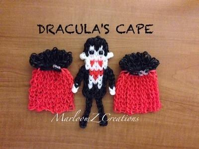 Rainbow Loom Cape - Dracula. Vampire