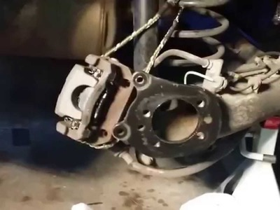 Toyota Prius (3rd Generation) Wheel Bearing Removal and Installation - Part 2 of 2