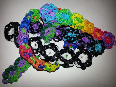 Bubble Bracelet Tutorial by feelinspiffy (Rainbow Loom)