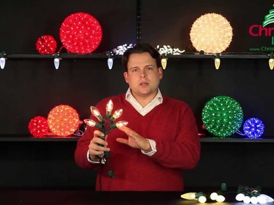 Christmas Light Decorating Ideas: White LED Christmas Lights vs Clear Christmas Lights