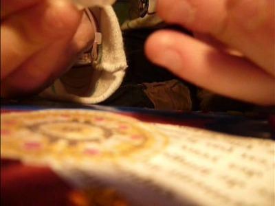 Custom d'un cahier - Decorate a book !