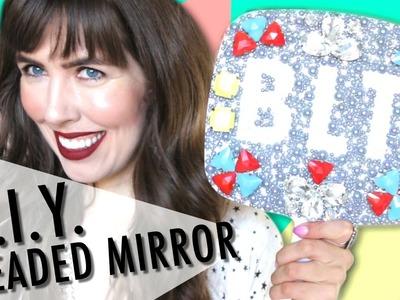 D.I.Y. Beaded Mirror