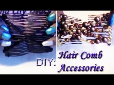 DIY: Hair Comb Accessories pt. 2