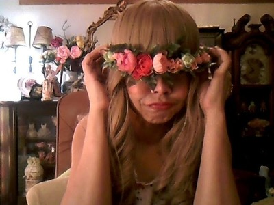 Do it Yourself. Hair Flower Crown