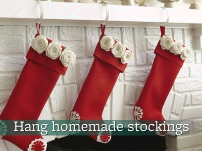 Five Easy Holiday mantel Decorating Ideas