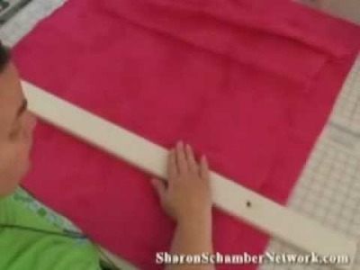 Hand Basting a Quilt p.1