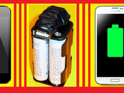 █  How To Make Power Bank At Home █