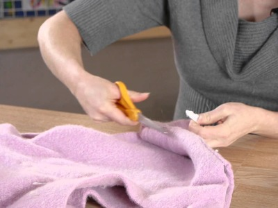 How to Recycle a Sweater Into a Purse : Sewing, Crocheting & Other Crafts