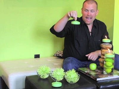 How to Use Green Floating Candles to Bring Life to Your Home or Office!!