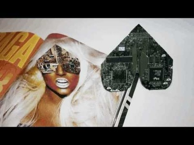 Lady Gaga V Magazine Computer Chip Glasses