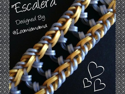 "New ""Escalera"" Hook only RL Bracelet. How To Tutorial"